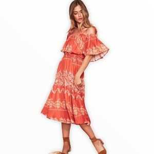 Tularosa Jaqui Floral Dress